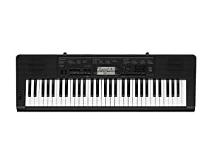 Casio CTK3200 61-Keys Touch Sensitive Personal Keyboard, Black