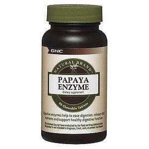 gnc-natural-brand-papaya-enzyme-chewable-tablets-90-ea-by-gnc-natural-brand-english-manual