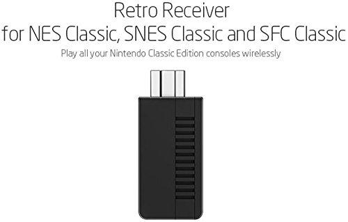 8Bitdo Retro-Empfänger für SNES Classic, SFC Classic und NES Classic (Bluetooth) - Super NES - von 8Bitdo (Limited Edition) Classic Bluetooth