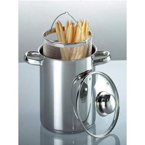 'Espárragos olla para espaguetis (Acero Inoxidable, 4litros, top Calidad
