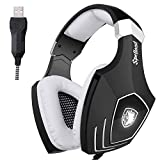 Best Sades PC Games - Stereo Gaming Headset Sades OMG/A60S Wired Gaming Headphones Review
