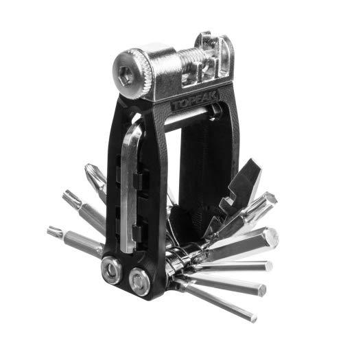 TOPEAK Unisex Jugend Ninja16+ Werkzeugset, schwarz, 16 Funktionen