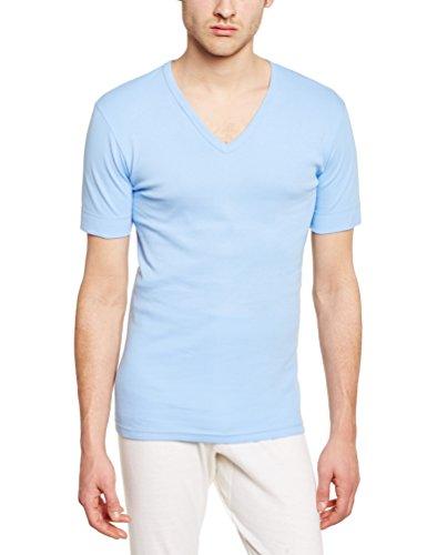 Armor Lux Herren T-Shirt Blau - Bleu (004 Ciel)