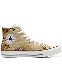 Converse Custom Printed Italian Style Old Texture