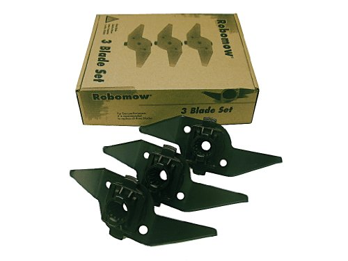 Robomow ROBOMRK0003A Low Cutting Blade Kit for RL models – Black