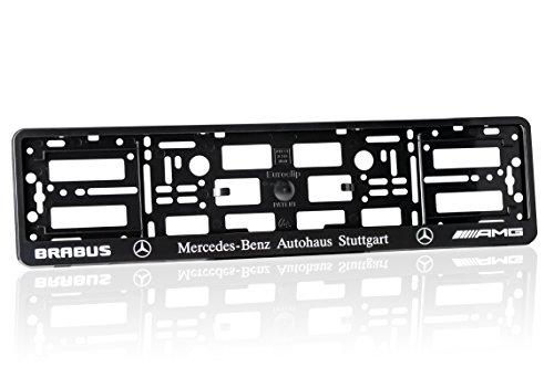 2-x-number-plate-holders-matte-black-finish-car-registration-surrounds-front-rear-frames-for-mercede