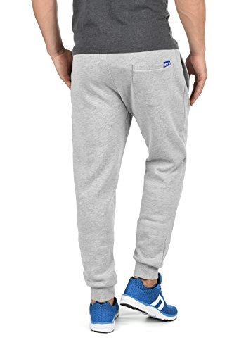 SOLID Benn Herren Jogginghose Sweatpants Sporthose mit kuscheliger Fleece-Innenseite aus hochwertiger Baumwollmischung Meliert Light Grey Melange (8242)