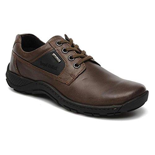 Josef Seibel , Chaussures de ville à lacets pour homme multicolore Espresso/Black Espresso/Black