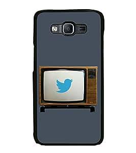 Fiobs Designer Back Case Cover for Samsung Galaxy On7 Pro :: Samsung Galaxy On 7 Pro (2015) (Awards Ar Artistic Owl Birld Dance Singer)