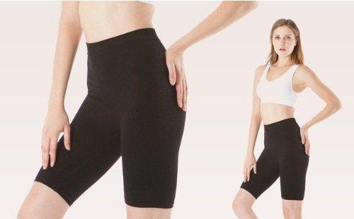 Figurformende Anti-Cellulite Shorts mit Massageeffekt Jeans