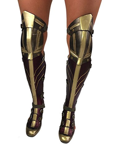 Wonder Woman Dawn Of Justice Costume Boot Size 6 (Boots Womens Wonder Woman)