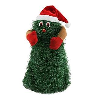 26cm Juguete de Muñeca de Árbol de Navidad Electrónico de Baile Canta Regalo de Cumpleaños Navidad para Niños Niñas