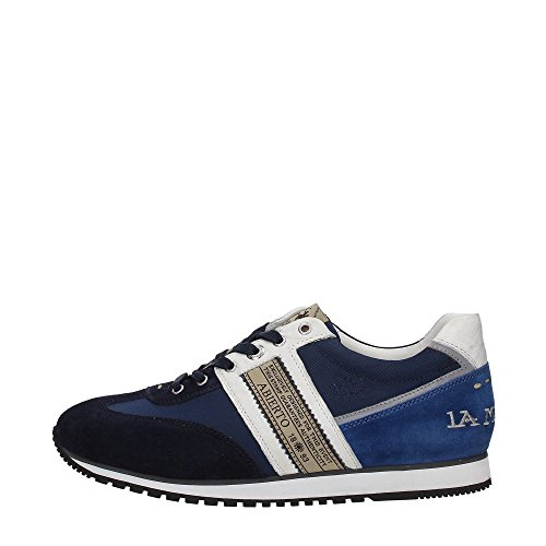 La Martina Shoes L3050269 Sneakers Uomo Tessuto NAVY NAVY 40