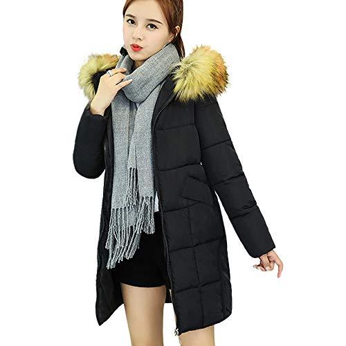Frau Arbeit Solide Jahrgang Winter Büro Lange Ärmel Taste Wolle Jacke Loose Parka Windproof Splice warm Classic Retro elegant Fancy Soft Cozy Light Mantel