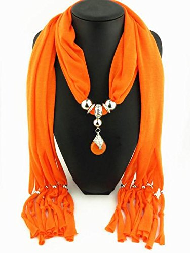 Brand New style Arrival Charms Scarf jewelry Pendant Scarf Jewelry Scarves Necklace Scarf