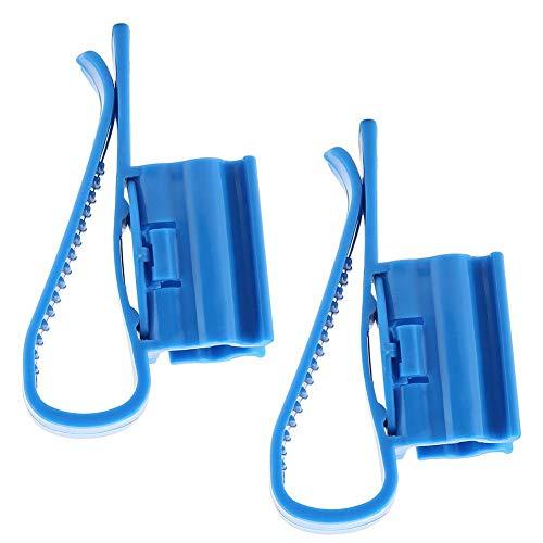 lauchhalter Kunststoff Fischwasserrohrschelle Einstellbare Aquarium Filtration Eimer Montageclip, Fit fir 8mm bis 16mm Schläuche ()