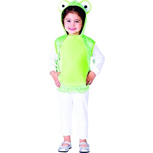 Kind Deluxe Kostüm Frosch - Dress Up America Deluxe Mr. Frosch Kostüm