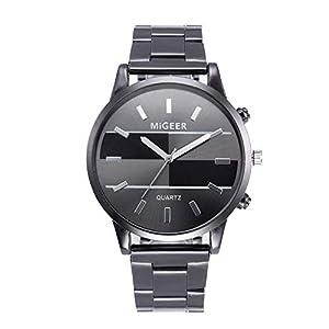 Uhren Herren Luxus Marke Herren Sport Uhren Full Analoge Quarz-Armbanduhr aus Edelstahl