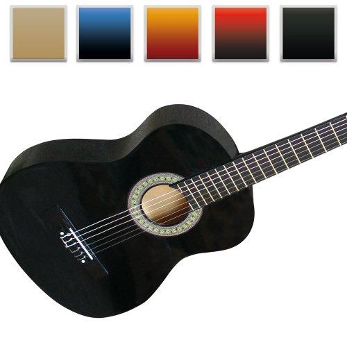 Jago Klassik Akustik Gitarre 4/4 für Anfänger und Hobbymusiker