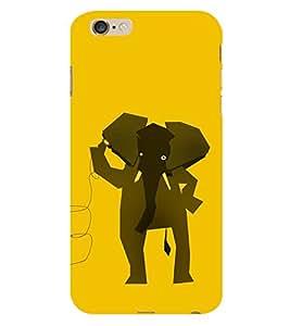 EPICCASE hello elephant Mobile Back Case Cover For Apple iPhone 6 Plus (Designer Case)