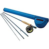 """Redington Fly Fishing Combo Kit 890-4 Outfit W/Crosswater Reel 8 Wt 9-Foot 4Pc, ONE Color, 8WT 9'0"""""""