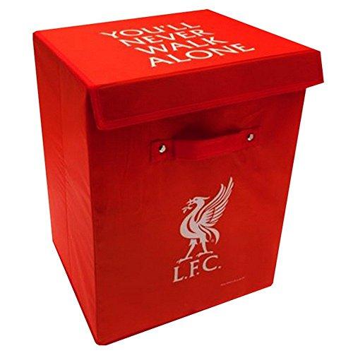 Liverpool Team Football Club Storage Box Bedroom Bathroom Laundry Toys Red Club Crest