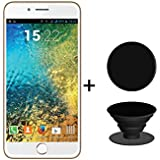 I KALL K1 5 Inch 4G Android Phone With Free Pop-up Grip - Gold