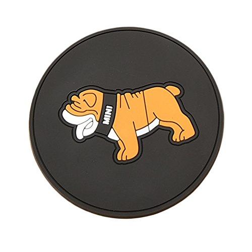 Dacitiery Untersetzer, Cartoon-Motiv, niedliches Tier-Untersetzer, Tassen, Kissen, Getränke, Platzdeckchen Hund -