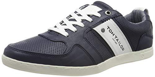 TOM TAILOR Herren 695100130 Sneaker, Blau (Navy 00003), 43 EU - Toms Blau-herren