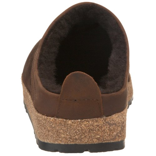 Haflinger Snowbird 713015, Pantofole, Donna Marrone (Braun/Kaffee)