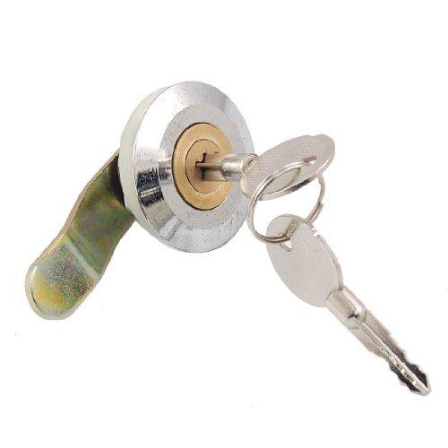Schrank Schrank Schublade 21,5x 8mm Gewinde Tubular Cam Lock w Schlüssel