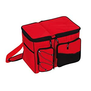 Sac isotherme 24l - Imperméable - Rouge