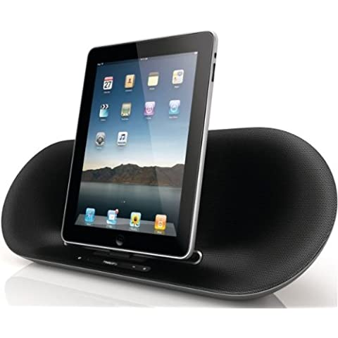 Philips DS8530/10 - Altavoz con puerto dock Apple iPhone/iPod/iPad (estéreo, 15 W), negro