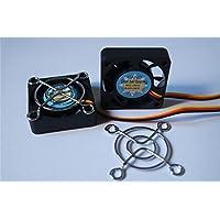 (due)Doppio cuscinetto a sfera lunga vita Ventole per case ventola di raffreddamento fan Brushless(3-pin 12V, 40mm(40X40X10))