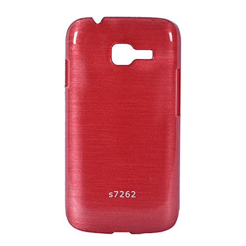 iCandy™ Hard PC Shiny Back Cover For Samsung Galaxy Star Pro S7262 - Red  available at amazon for Rs.115