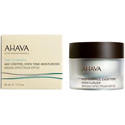 AHAVA Time to Smooth Age Control Even Tone moisturiser SPF20 50 ml