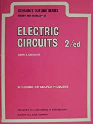 Schaum's Outline of Electric Circuits (Schaum's Outline Series) by Joseph Edminister (1983-06-30)