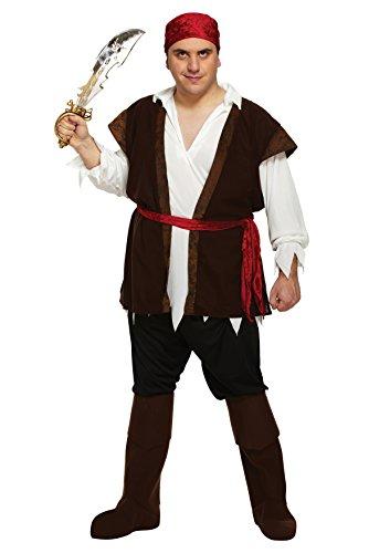 Imagen de disfraz adulto pirata hombre xxl