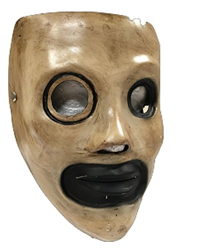 Slipknot - Corey Style Deluxe Glasfaser Maske All Hope Is Gone Era universell mit Schnalle