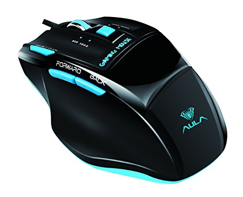 Aula Killing The Soul 120549 2000 DPI USB Wired Expert Gaming Mouse 4135CjprxtL
