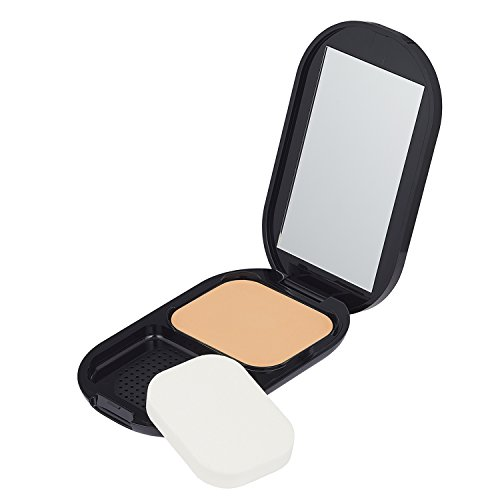 Max Factor Facefinity Compact Make-up Natural 003 - Puder Foundation für ein mattes Finish - 1 x 10 g