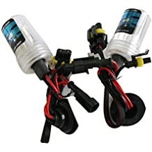 H7Kit de xenón LED Fog Tail Turn DRL Head Bombilla Lámpara Luz HID 12V Doble 55W y 6000K
