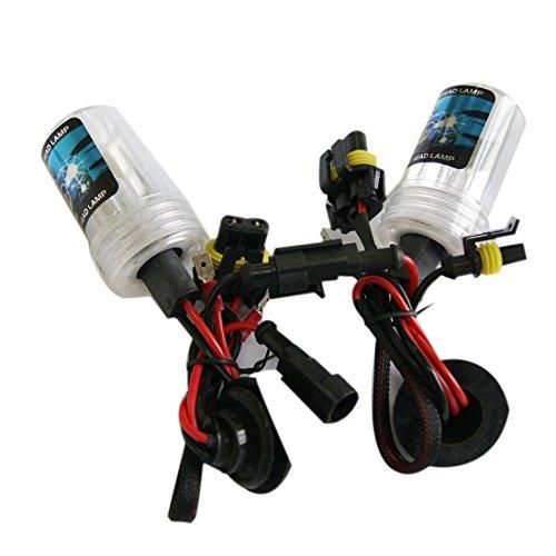 12 V H3 Lampe Xenon Kit LED brouillard queue Tour DRL Ampoule Lampe tête double HID 55 W & 6000 K