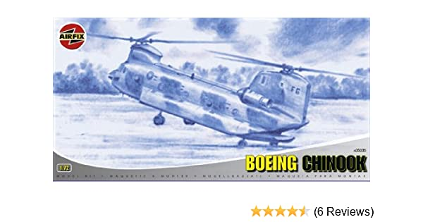 Airfix A05035 1:72 Scale Boeing Chinook Military Aircraft Classic Kit Series 5