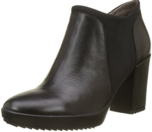 Stonefly Damen Oprah 3 Nappa Plateaupumps, Schwarz (Nero/Black), 35 EU (Nappa Heel Ankle Boot High)