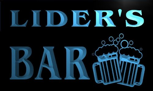 w094453-b-lider-name-home-bar-pub-beer-mugs-cheers-neon-light-sign