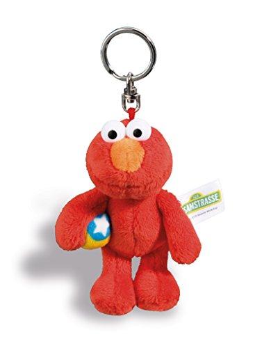 lmo Sesamstraße Schlüsselanhänger, rot, 10 cm ()