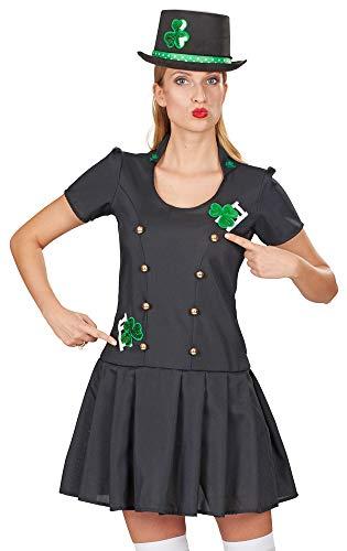 Andrea Moden Schornsteinfegerin Glücksbringer Kostüm für Damen - Gr. 36 - Für Erwachsene Glücksbringer Kostüm