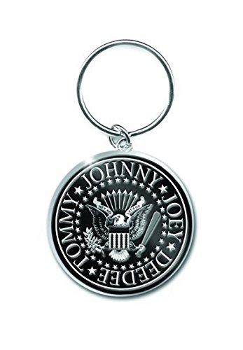 (Ramones Schlüsselring Keychain Presidential Seal band logo Nue offiziell metal)
