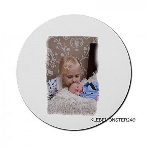 Personalisierbares Mousepad bedruckt Individuell gestaltbare Geschenk Personelle Fotokissen als Werbegeschenk by Klebemonster24® #036